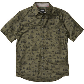 Marmot Syrocco SS Shirt Men nori camping